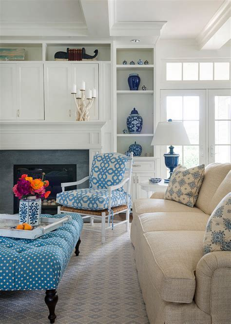 Rhode Island Beach Cottage with Coastal Interiors   Home