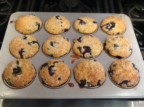 Add eggs, sour cream, and vanilla and mix. Blueberry Coffee Cake Muffins   Recipe   Coffee cake muffins, Coffee cake, Muffins