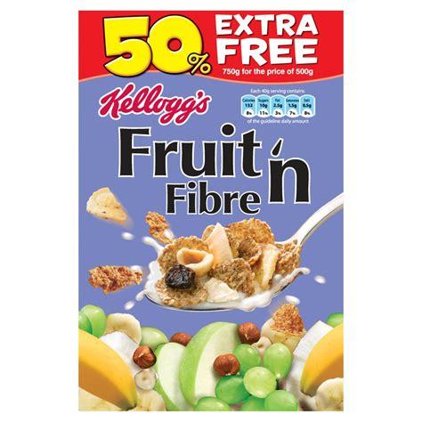 750g cuisine kellogg 39 s fruit n 39 fibre 750g family cereal cereal