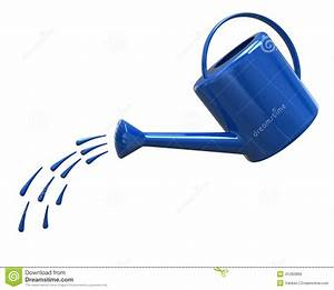 Watering Can Pouring Water Clipart - ClipartXtras