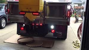 Front Bumper Lights 2015 F450 Strobe Lights Youtube