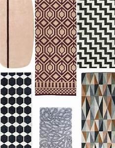 graphiques en noir et blanc ou soft en mode naturel voici With tapis blanc et noir