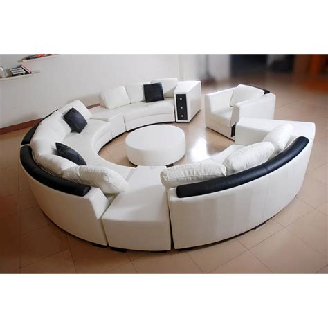 canap d angle rond canapé d 39 angle design rond reno fauteuil table 2 690 00