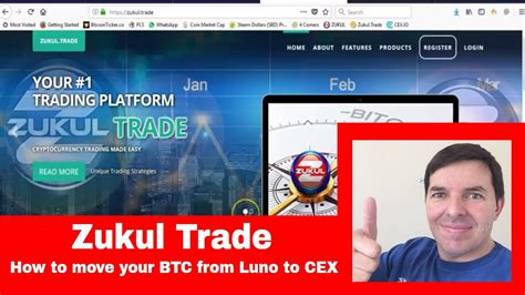 Luno is a bitcoin exchange with a presence in south africa, singapore, nigeria, malaysia and indonesia. Zukul Trade How to fund your CEX account with bitcoin from ...