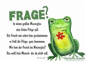 Frosch Bilder Lustig : frosch fliege und wasserglas gedicht spr che suche ~ Whattoseeinmadrid.com Haus und Dekorationen