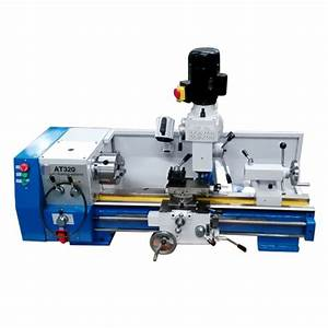 China At320 3 In 1 Lathe Combo Machine For Cutting Metal