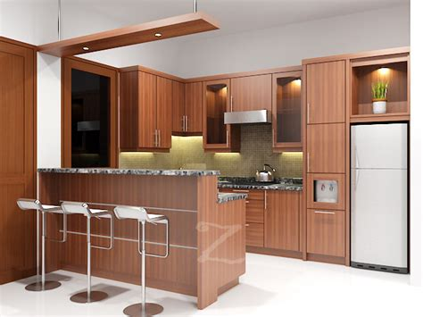 design kitchen set minimalis harga 70 model gambar kitchen set minimalis 6577