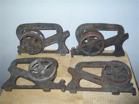 4 Antique Ives Cast Iron Pocket Barn Door Rollers Architectural Hardware C 1886 Antique Linens For Sale Ridge Mall Shawnee Ks Table And Chairs Gumtree Tv Stand Toronto Chinese Folding Screens Car Show Nyc Charleston South Carolina Malls Small White Writing Desk