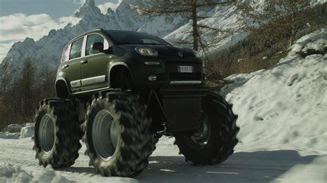 video of monster truck fiat panda italian for monster truck w video autoblog