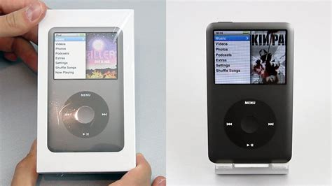 ipod classic 160gb apple ipod classic 160gb black unboxing overview