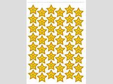Printable Yellow Stars Printable 360 Degree