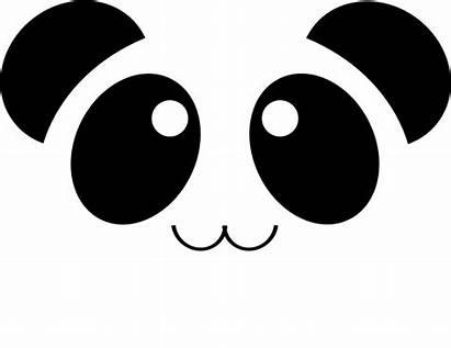 Panda Bear Kawaii Face Pixabay Adorable