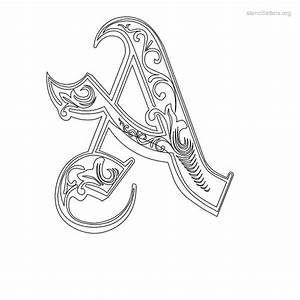 decorative stencil tattoos and art is there a With decorative letter stencils