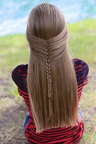 Mermaid Braid Cute Girls Hairstyles