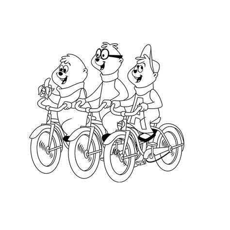 Alvin En De Chipmunks Kleurplaat by Leuk Voor Chipmunks 0011