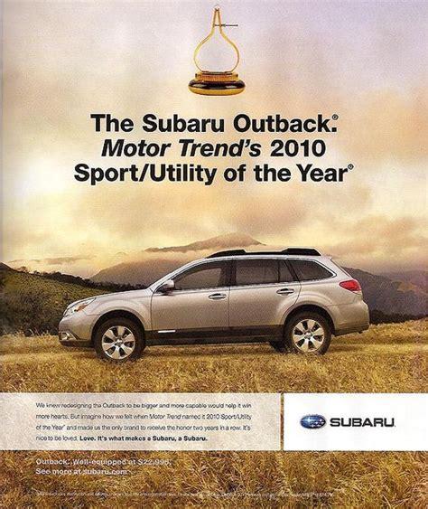 Subaru Car Ads by Subaru Ad Serif Fonts Subaru
