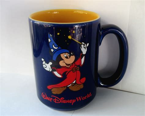 It's smaller then your regular coffee mug so maybe perfect for tea or smaller portioned drinkers. Walt Disney World Mickey Mouse Sorcerer's Coffee Mug - Mugs, Glasses
