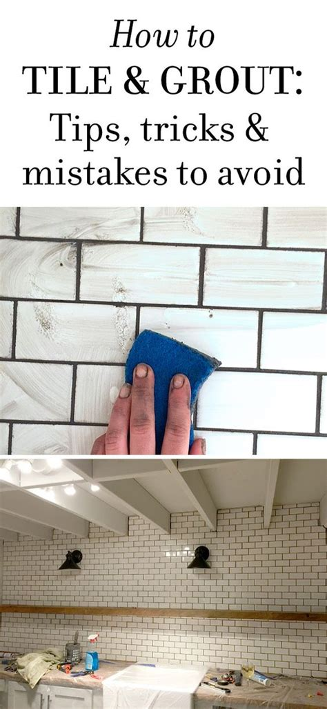 new laundry room subway tile grout tips tricks