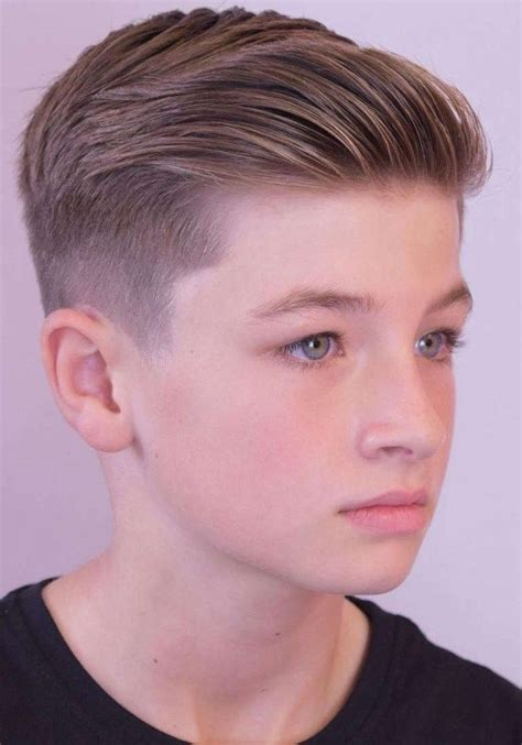 hairstyle idea  teenage boys    short