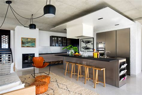 House Kitchen Living Room by Open Concept Kitchen And Living Room 55 Designs Ideas