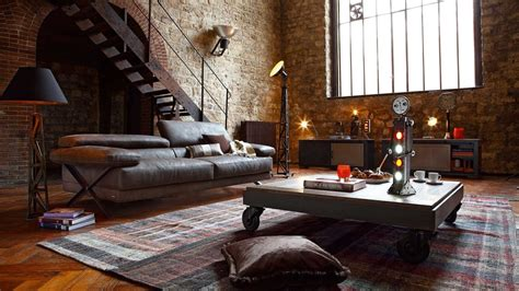 industrial interiors home decor industrial style 26 ideas for your home youtube
