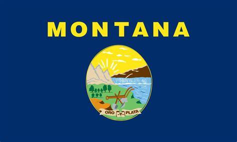 montana state colors montana flag elmers flag and banner