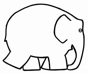Elmer kleuren of schilderen u pinterest for Elephant template for preschool