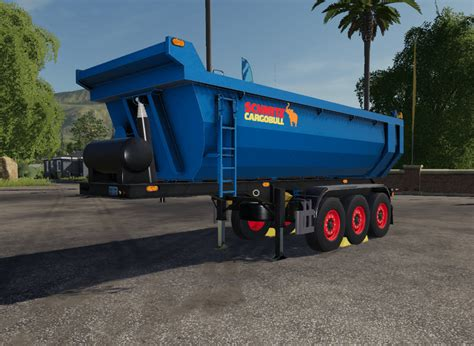 ls schmitz kipperfs trailer  farming simulator