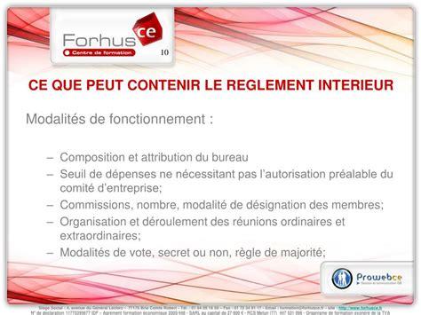 ppt le reglement interieur du comite d entreprise powerpoint presentation id 427634