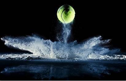 Tennis Sports Balls Ball Reflection Wallpapers Desktop