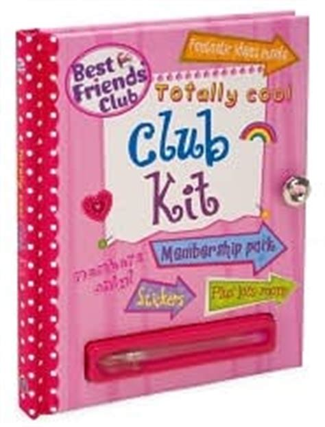 totally cool club kit  friends club series  sarah delmege reviews discussion