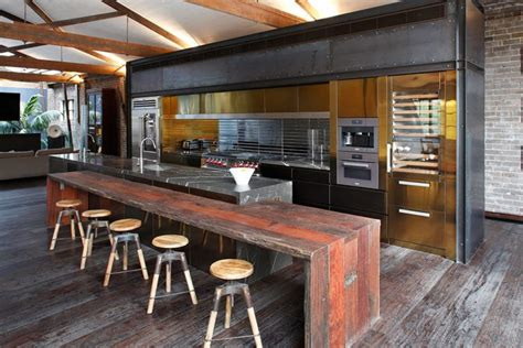 cool kitchen design ideas 59 cool industrial kitchen designs that inspire digsdigs