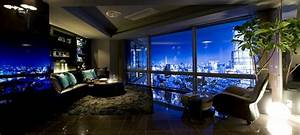 Lavish, High-End Apartment With Mesmerizing Views of Tokyo