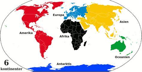 Världsdelar och kontinenter - Wikipedia