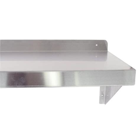 36 inch wall shelf turbo air tsws 1436 36 in x 14 in wall mounted shelf