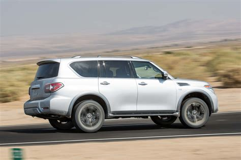 2017 Nissan Armada Platinum First Test Review