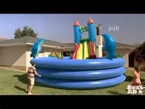 Big Baby Slide : dad buys giant pool for his children youtube ~ A.2002-acura-tl-radio.info Haus und Dekorationen
