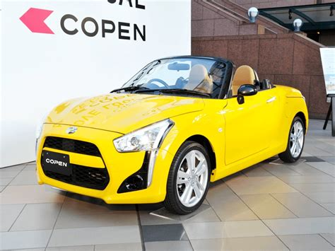 Daihatsu Car : Daihatsu Copen Sports Car Revealed In All Its (tiny) Glory