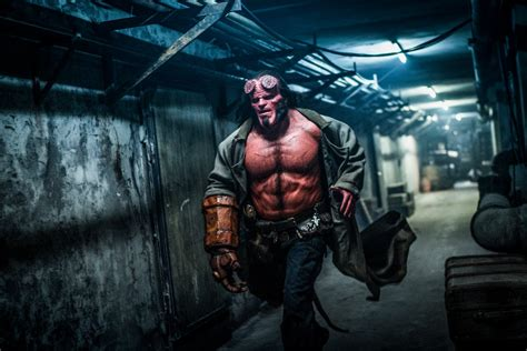 patton oswalt hellboy first hellboy teaser premieres ahead of trailer