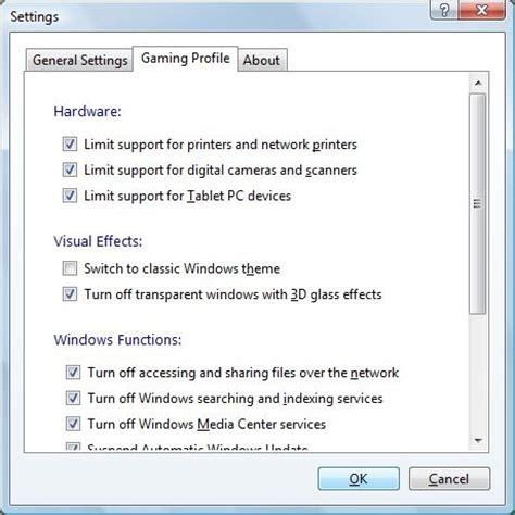 performances du bureau pour windows aero comment optimiser pc pour les jeux améliorer les
