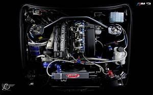 Bmw M3 Turbo Engine Wallpaper
