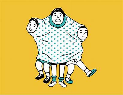Illustrator Daisuke Nimura Gifs Animated Japanese Quirky