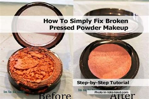How To Fix Broken Powder Makeup  Mugeek Vidalondon