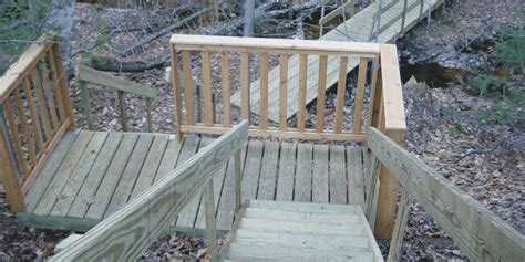 photo gallery wood frame stairs boat docks