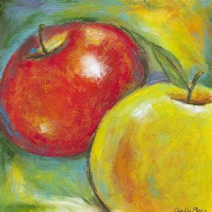 abstract fruits iv fine art print  chariklia zarris