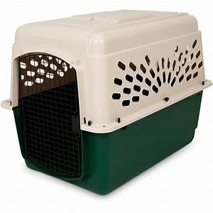 Ruff maxx plastic dog crate kennel 6 sizes at hayneedle for Plastic dog crates