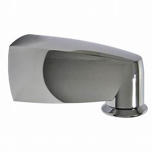 6 In  Pull Down Diverter Tub Spout In Chrome