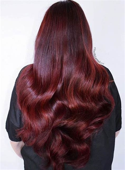 ruby hair color 21 amazing hair color ideas page 2 of 2 stayglam