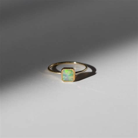 opal engagement rings   modern bride   brides