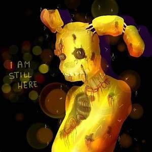 Fnaf 3 Golden Bonnie by mikymichelle on DeviantArt